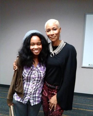 With Charmin Lee at the Black Women in Film Summit in ATL