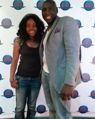 With Antoine Allen at the Validate Yourself Film Festival