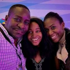 With William Michael Barbee and Dominique LaFleur at the African-American Martha's Vineyard film festival