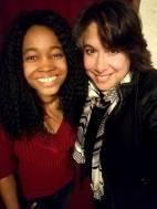 Raeshelle Cooke and filmmaker Rosemary Pacheco
