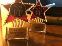 """Woke"" won Best Director & Best Short at the Shawna Shea Film Festival, 2021"