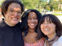 With filmmakers Andrea Wolanin & Natalia Plaza