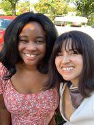 With Natalia Plaza